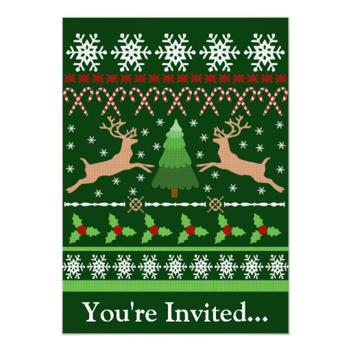Ugly Christmas Sweater Party Funny Funny Ugly Christmas S...