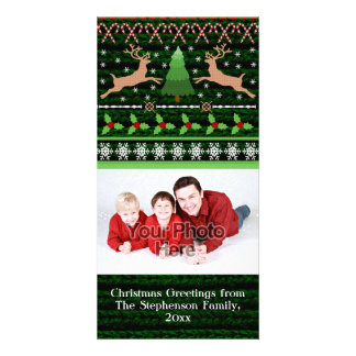 Funny Ugly Christmas Sweater Holiday Card
