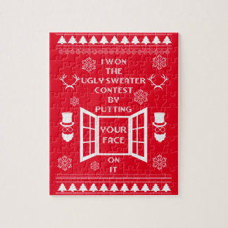 Funny Ugly Christmas Sweater Jigsaw Puzzle