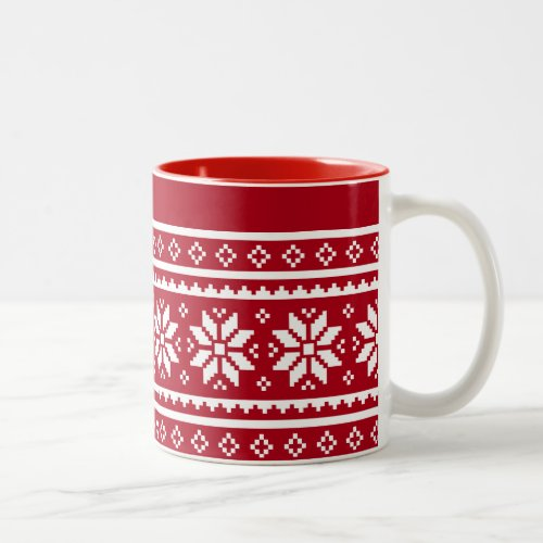ugly Christmas sweater coffee mugs