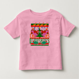 Funny Ugly Christmas Sweater Pattern Dinosaurs