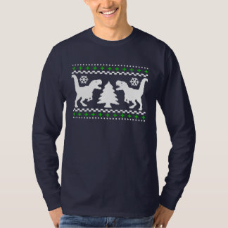 Funny! Ugly Holiday T-Rex Sweater