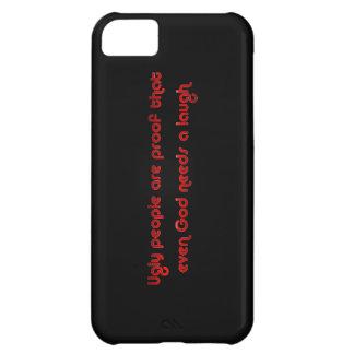 Funny Ugly People Joke Humor iPhone 5C Cover