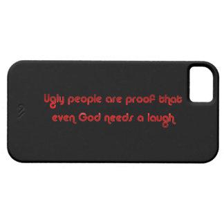 Funny Ugly People Joke Humor iPhone 5 Cover