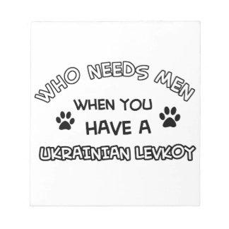 Funny ukrainian levkoy designs notepads