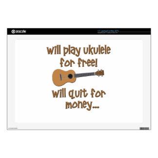 Funny Ukulele Decal For Laptop