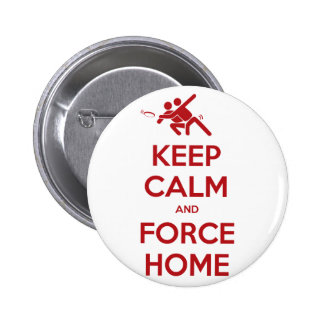 Funny Ultimate Frisbee- Keep Calm and Force Home Button