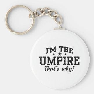 Funny Umpire Keychain