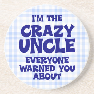 Funny Uncle Gift Drink Coaster
