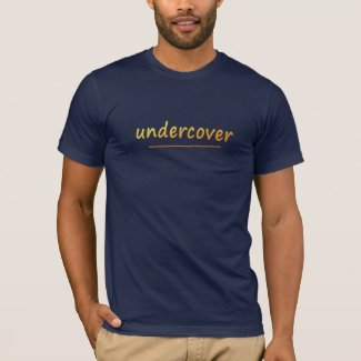 Funny Undercover Shiny Golden Text all colors