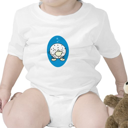 funny underwater golf ball holding its nose t shirt