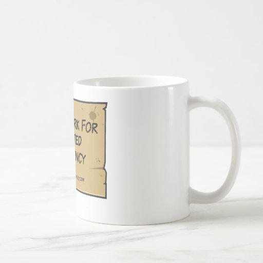 Funny Unemployment - Inflated Currency Mugs