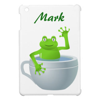 Funny Unexpected Frog in My Tea Cup iPad Mini Case