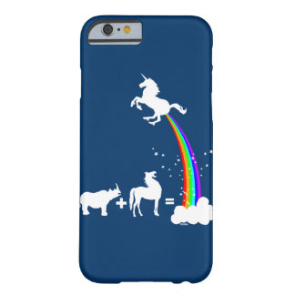 Funny unicorn origin barely there iPhone 6 case