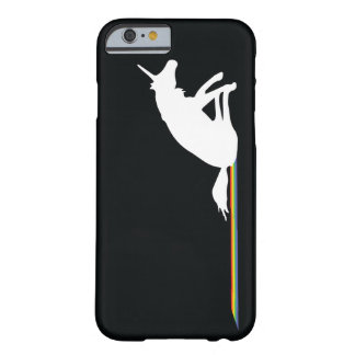 Funny Unicorn Pooping Rainbows Barely There iPhone 6 Case