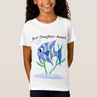 Funny Unique Cartoon Angel fish T-Shirt