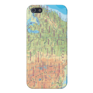 Funny United States Road map  Case For iPhone SE/5/5s