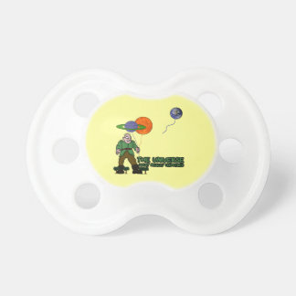 Funny universe pacifier
