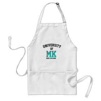 Funny - University of MK (MOM'S KITCHEN) - Adult Apron