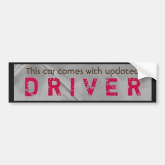 Funny Updated Driver Pink Brown