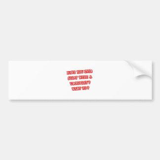 Funny Urologist Pick-Up Line Bumper Sticker