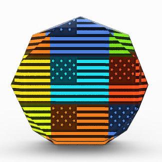 Funny USA Flag Acrylic Award