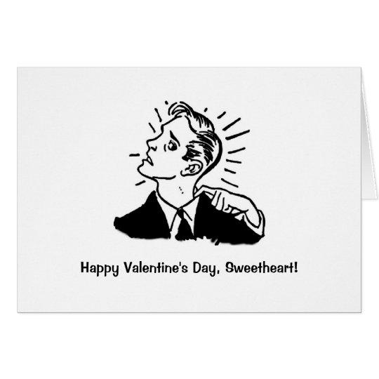 Funny Valentine #2 Card