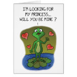 Funny Valentine Cards: Frog Love