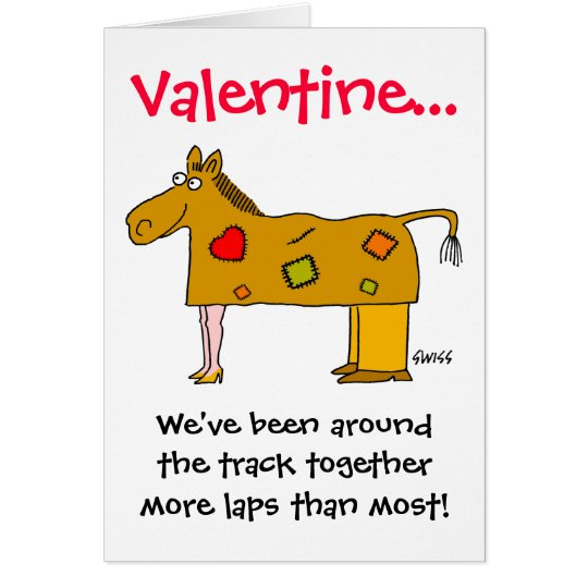 Funny Valentine Especially For Married Couples Card