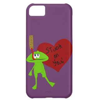 Funny Valentine Frog iPhone 5 Case