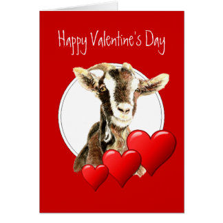 Funny Valentine from Your Favorite Old Goat, humor Card