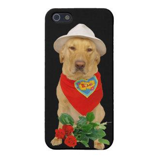 Funny Valentine LOVE Lab iPhone SE/5/5s Case