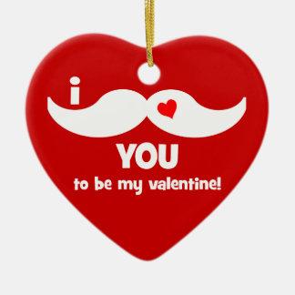 funny valentine ornament