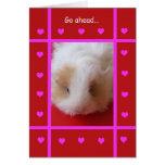 Funny Valentine -- Piggish Greeting Card