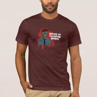 Funny Valentine Zombies Shirt