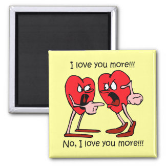 Funny Valentine's Day 2 Inch Square Magnet