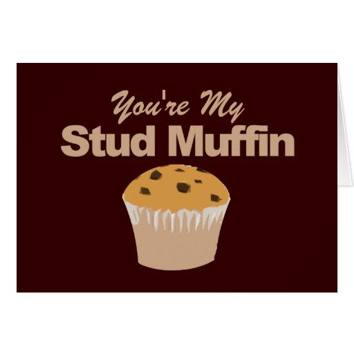 Funny Valentines Day Cards, Stud Muffin