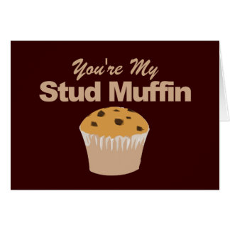 Funny Valentines Day Cards, Stud Muffin Greeting Card