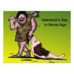 Funny Valentine's Day Comic Custom Invite