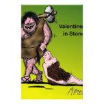 Funny Valentine's Day Comic Custom Stationery