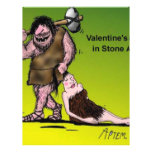 Funny Valentine's Day Comic Flyer Design