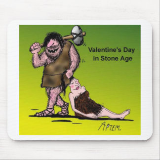 Funny Valentine's Day Comic Mouse Pad