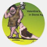 Funny Valentine's Day Comic Stickers