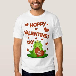 Funny Valentine's Day Frog PrinceT-Shirt Shirts