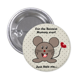Funny Valentines Day Funny Mouse Pin