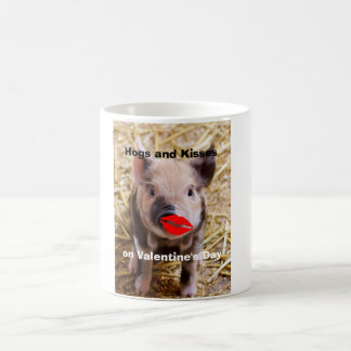 Funny Valentines Day Funny Piglet Coffee Mug