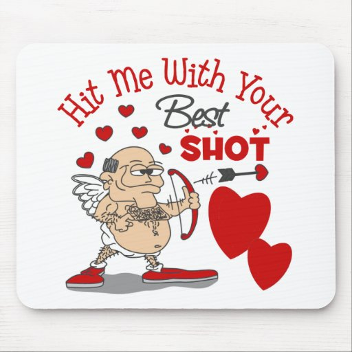 Funny Valentine's Day Gift Mouse Pad