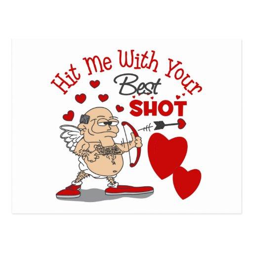Funny Valentine's Day Gift Postcard