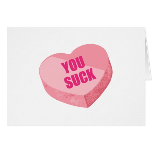 Funny Valentines Day Greeting Card