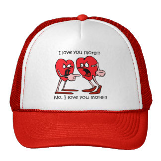 Funny Valentine's Day Trucker Hats